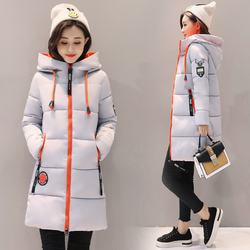 Parka kobiety 2019 kurtka zimowa kobiety płaszcz z kapturem znosić kobiet Parka gruba bawełna wyściełane podszewka zima kobiet podstawowe płaszcze Z30 4