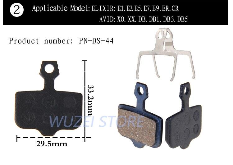 nwe Brand AVID  E5 DB1 MTB Bike Hydraulic Disc Brake Set Front and Rear DB3 6000