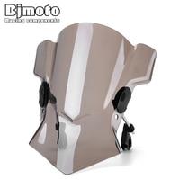 Bjmoto 7/8 22mm 1 25mm 28mm Handlebar Motorcycle Windshield Windscreen bracket For BMW Yamaha Kawasaki Suzuki Aprilia Ducati
