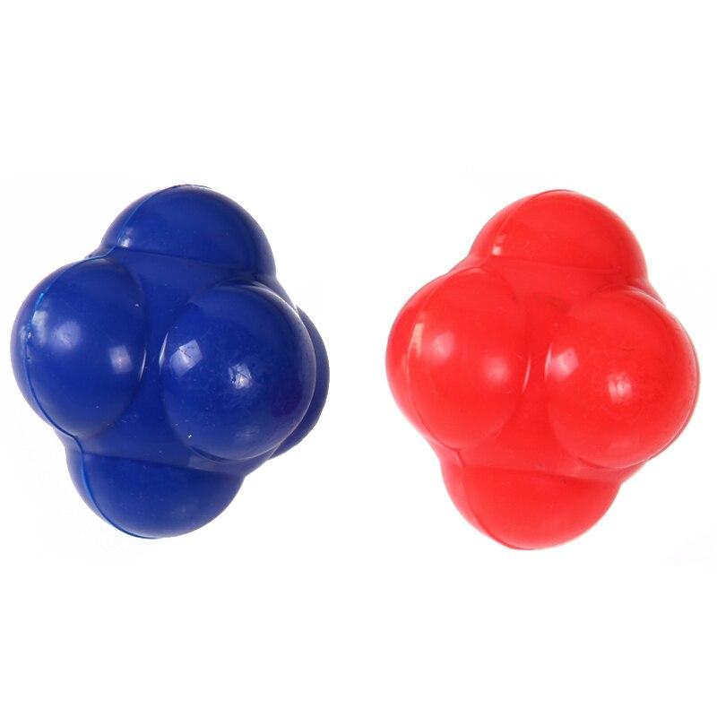 Fitness reaksiyon topu duyarlı topu tenis topu badminton reaksiyon hız çeviklik eğitim top Egzersiz ekipmanları