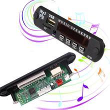 Cewaal dc5v vehículos Mp3 Wma decodificador Junta Módulo de audio FM USB TF Radios para coche MP3 Accesorios