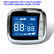 цена на Home Use LLLt Laser Pain relief device Smart Wrist Watch For Diabetes Treatment.