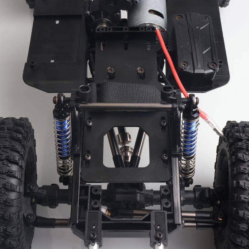 2019 새로운 도착 313mm/12.3 인치 휠베이스 섀시 1/10 RC 크롤러 SCX10 II 90046 90047-에서부품 & 액세서리부터 완구 & 취미 의  그룹 3