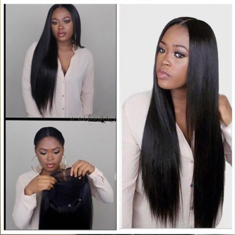 Enthusiastic Simbeauty Long Straight 360 Lace Frontal Wig With Baby Hair Glueless Brazilian Remy Human Hair For Black Women Natural Hairline Human Hair Lace Wigs