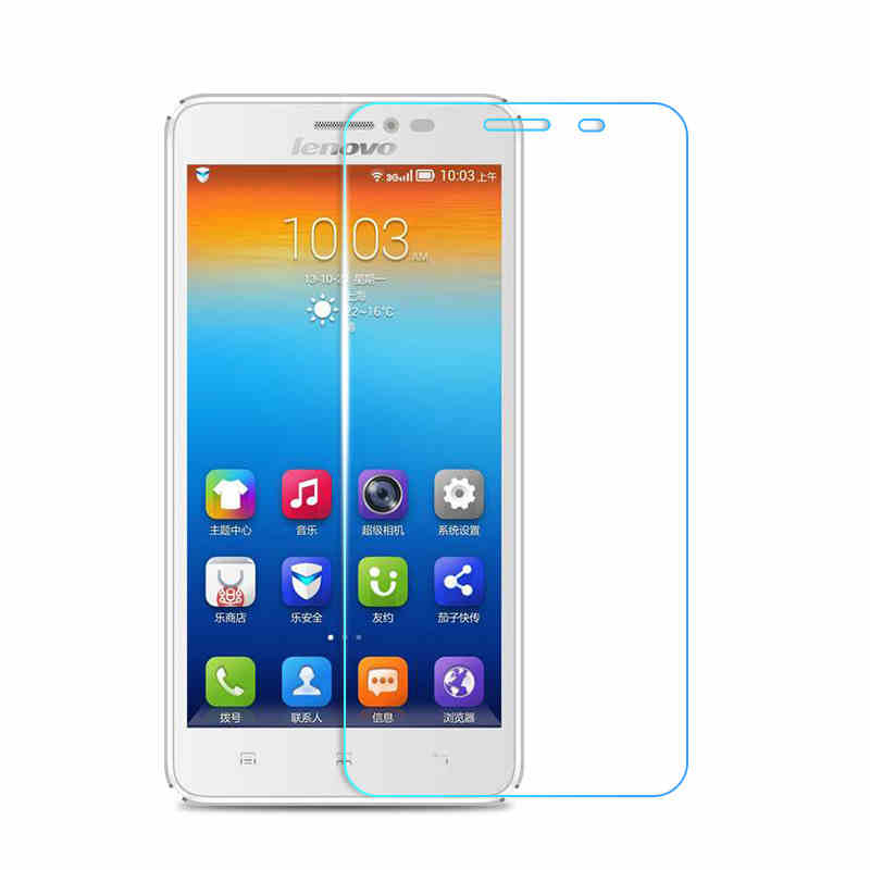 9H 2.5D Explosion-proof Tempered Glass screen protector for Lenovo S850 s850t s 850 Protective glass screen film with Clean Tool