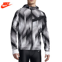 Nike men's spring autumn woven windproof Hoodie jacket 833548-010(China)
