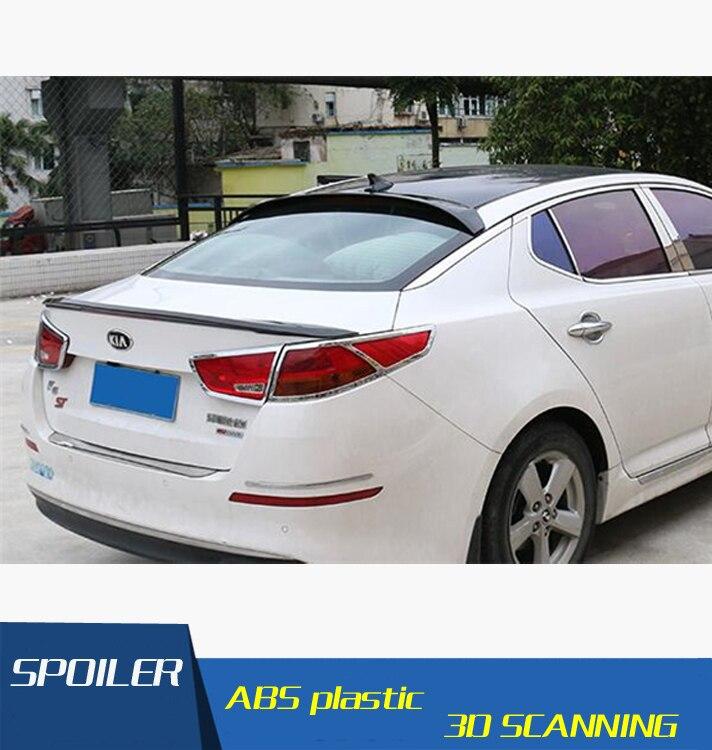 Para Kia K5 Optima Spoiler De Techo Material ABS Coche Ala