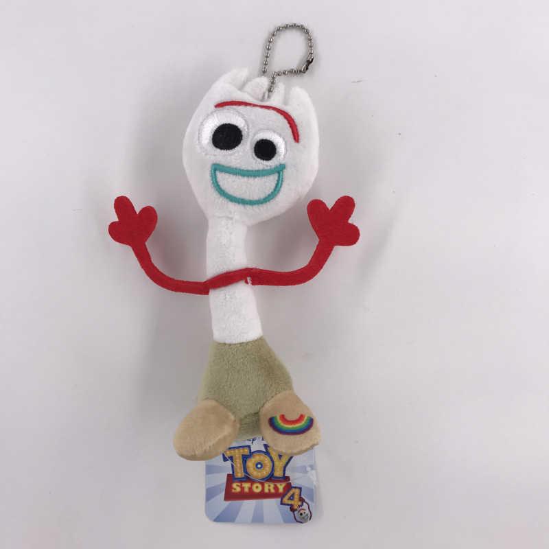 5-27 centímetros Filme Toy Story 4 Forky Stuffed Boneca Dos Desenhos Animados do Anime Brinquedos de Pelúcia Bonito Das Crianças Das Crianças do Presente de Aniversário saco de chaveiro Acessórios