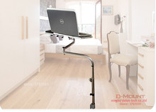 OK 081 Bedside Moving Laptop Stand Adjustable Sofa Computer Monitor Holder Mount +Keyboard Holder Rotating Laptop Table Lapdes(China)