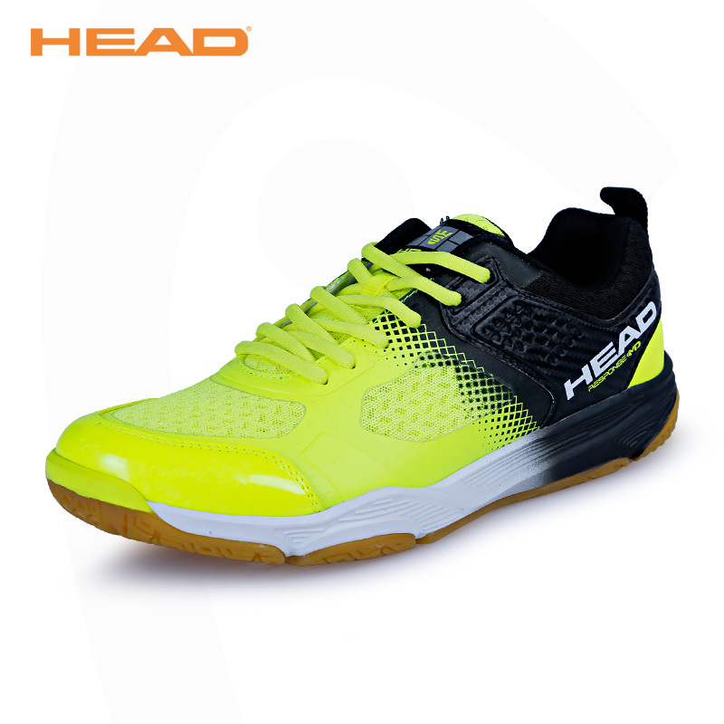 HEAD Man Badminton Shoes Non Slip Original Athletic Shoes Outdoor Sport Sneaker For Women Professional Table Tennis Shoes 39-44 цена