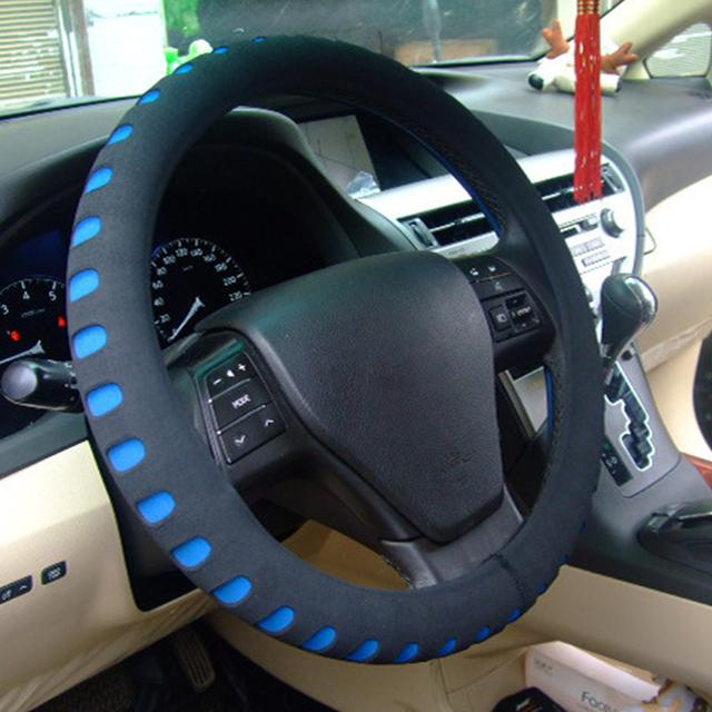 Cubierta del volante del coche Protector Universal del coche diámetro 38 cm EVA Material automotriz Protector de dirección