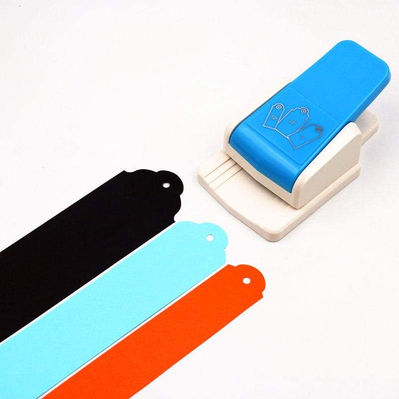 Punch Umbau top Punch gerade 1,5, 2 oder 2,5 zoll geschenk Tag papier stanzen für scrapbooking handwerk perfurador diy puncher