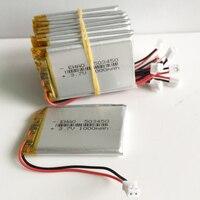 10 x pcs 3.7V 1000mAh 503450 Lithium Polymer LiPo Rechargeable Battery Li cells JST PH2.0 2pin For Mp3 DVD PAD camera recorder