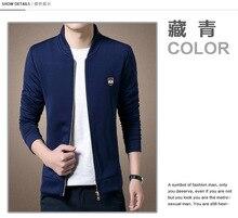 men jacket spring jacket men Spring new Slim sweater collar men jacket free shipping