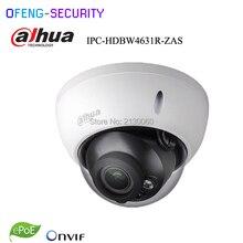 Dahua 6MP IPC-HDBW4631R-ZAS 2.7~13.5mm varifocal motorized lens IP67 IK10 IR30M built-in SD card slot audio interface  ip camera