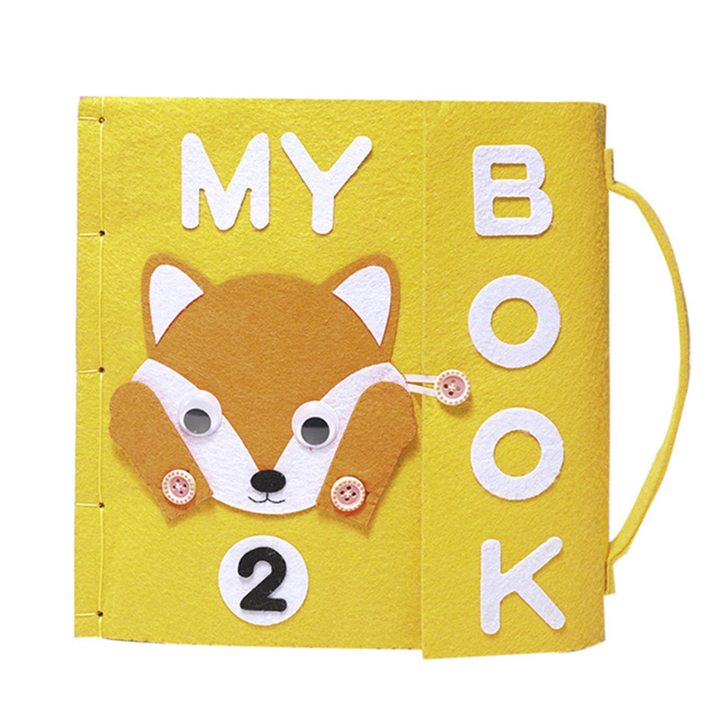 Special Gift For Kid My First Book Quiet Baby Early Learning Educational Book DIY Felt Material Package Mom Handmade Books