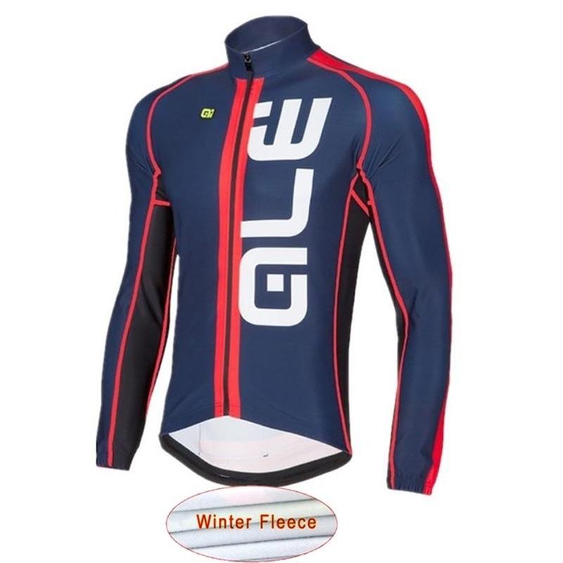Ropa Ciclismo 2018ALE Winter Warm Wool Bicycle MTB Bike Warmer Mens Racing Bike Riding High Quality