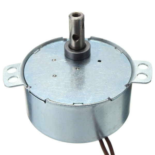 купить AC 220-240V Turntable Synchronous Motor 1/15 r/min 3.5/3W CW Widely used in electric fans heaters microwave oven недорого