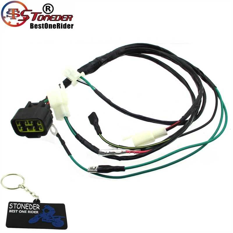 Stoneder Digital Wiring Loom Harness For Zongshen 125ho 140cc Z155 155cc 1p60ymj 154fmi 2 1p56ymj Engine Pit Dirt Bike Aliexpress