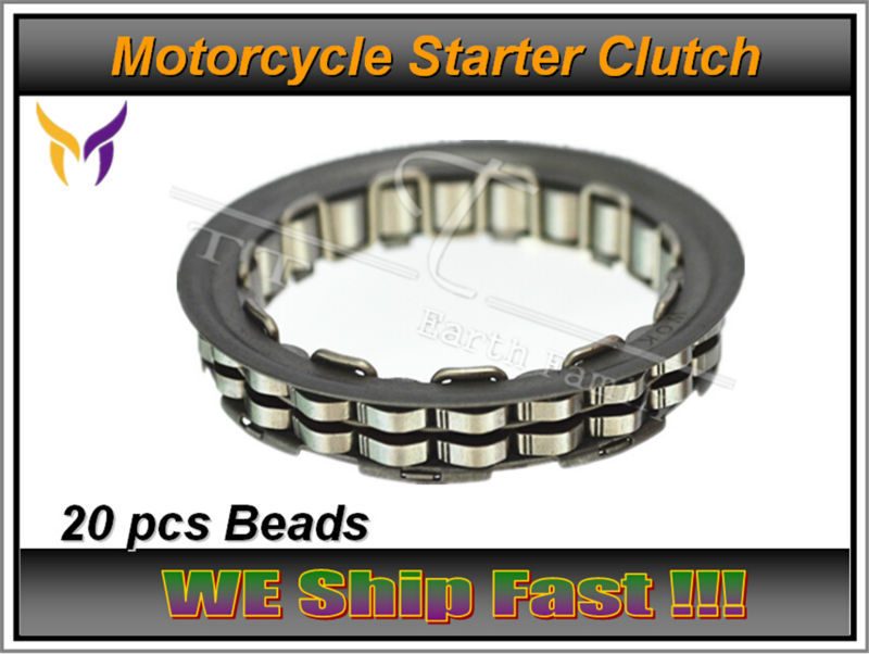 ФОТО Free Shipping Big Roller Reinforced One Way Bearing Starter Spraq Clutch For Kawasaki Prairie KVF700 2004-2006