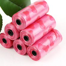 20 Rolls 300pcs Pet supplies color printing pooper Bags garbage bag dog feces outdoor household cleaning filled bags