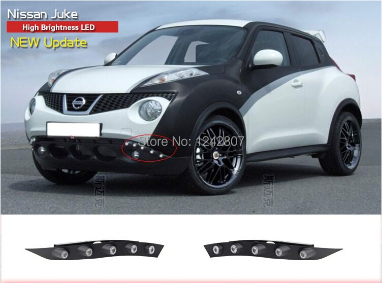 led drl daytime running light for Nissan Niss Juke 2011-13, with E4 certification, top quality, fast shipping, waterproof защита nissan juke 2011 1 6 картера и кпп штамповка