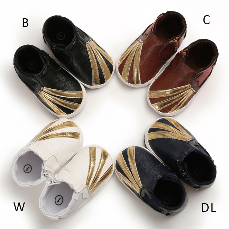 Hot Baby PU First Walkers Shoes Infant Baby Shoes Infant Sole Soft Leather Cradle 0-18 Months Spring / Autumn