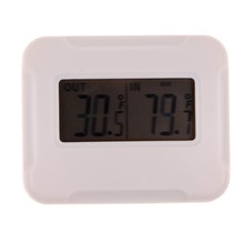 Buy online LCD Digital Wireless Ambient Weather Temperature Thermometer Sensor Display Temperature w/ Remote Sensor for Indoor Outdoor