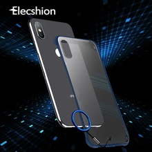 Ultra Thin Ring Frameless Case For iPhone 7 8 Plus Luxury Hard PC XR XS Max Shockproof Bumper For iPhone X 6 6s Plus Simple Case xincuco ultra thin leather protective case for iphone 6s plus 6 plus simple business style dark blue