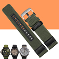 AOTU 22/24mm High-Quality Canvas Strap Watch Strap Accessories for Jeep JP612 JP15201 JPC31222JPW609 JP15203 Series Diesel Watch