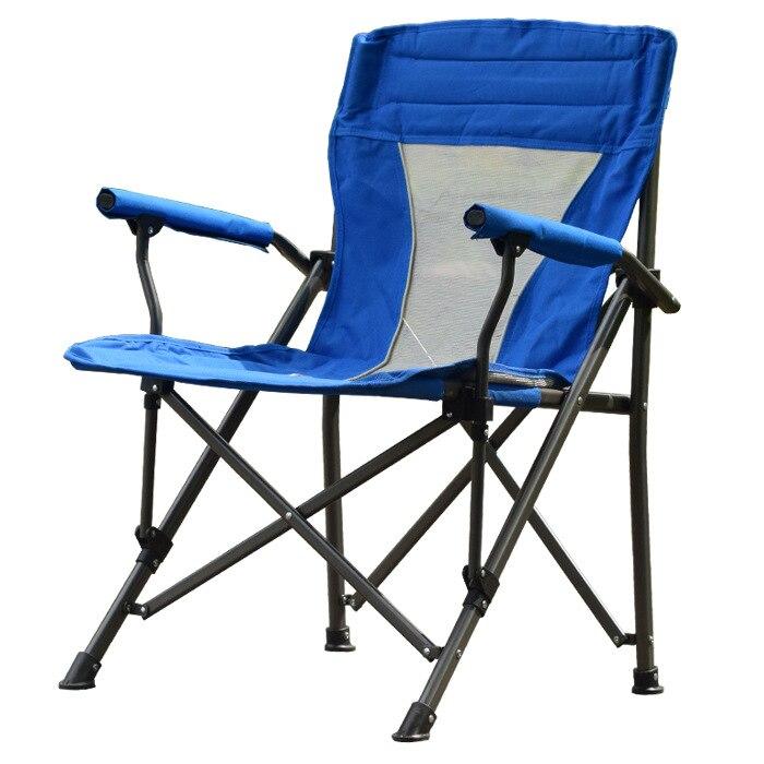 Camping en plein air chaises De Plage fauteuil Portable chaises pliantes tabouret de pêche Jardin Pique Nique Voyage Siège Chaise sieste chaise dans Chaises de plage de Meubles