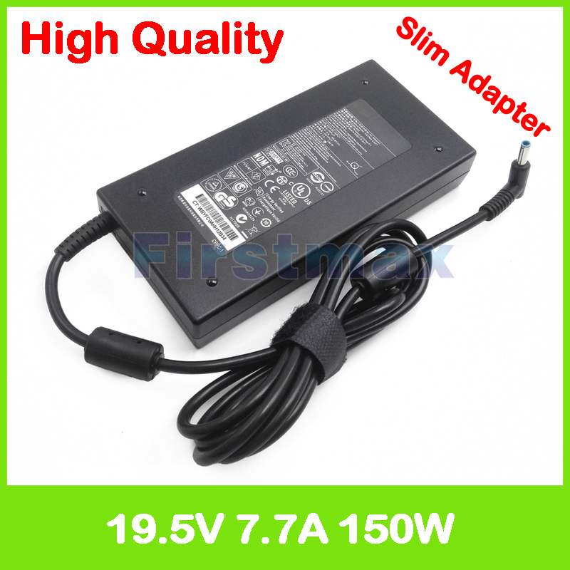 Slim AC power adapter 19 5V 7 7A laptop charger for HP Omen 15 ax100 15