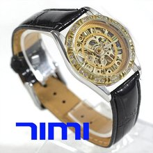wholesale Ladies Automatic Watch Gold Grace Design Calendar Gift