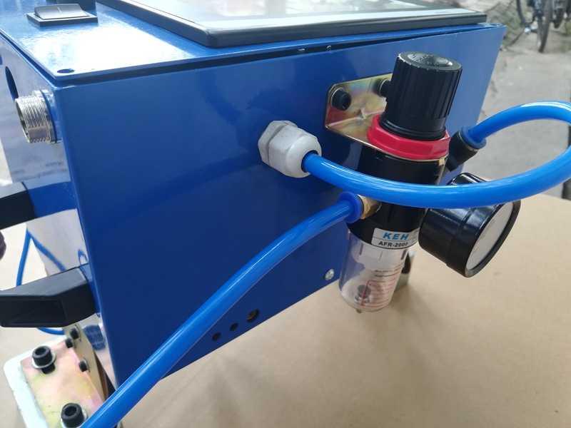 160*40 todo en uno modelo de máquina de marcado neumático portátil para la máquina de marcado de punto de entrada 110/ 220V