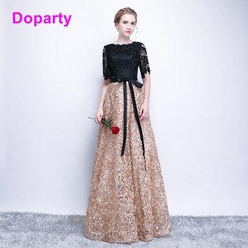 09b176deb XS Negro elegante largo ocasión especial de la madre de la novia vestido de  noche las mujeres compromiso vestidos de baile de 2019 para las mujeres