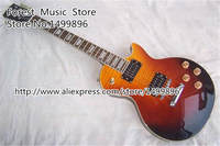 Free Shipping New Brand multi Color Guitar Body LP Model Standard Electric Guitar China With Silver Hardware
