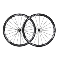 ICAN 38mm Wheelset Carbon for Road Bike Racing Clincher 20/24 Holes Rim 10/11 Speeds