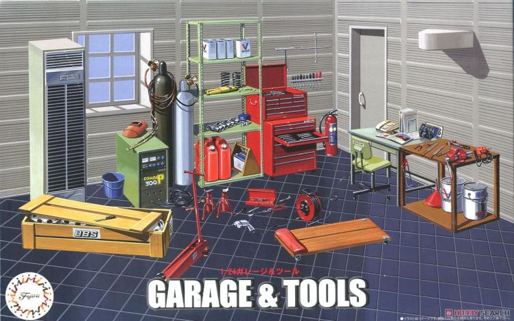 1/24 Assembly Model Garage Repair Kit 116351/24 Assembly Model Garage Repair Kit 11635