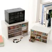 Multifunctional Office Desk Organizer Plastic Storage Box Jewelry Organizer Acrylic Box Desktop Drawer Organizer