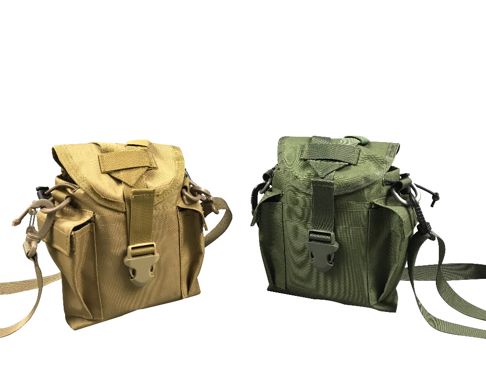 Jolmo Lander Molle Canteen Cover Canteen Pouch Canteen Carry with Shoulder Strap стоимость