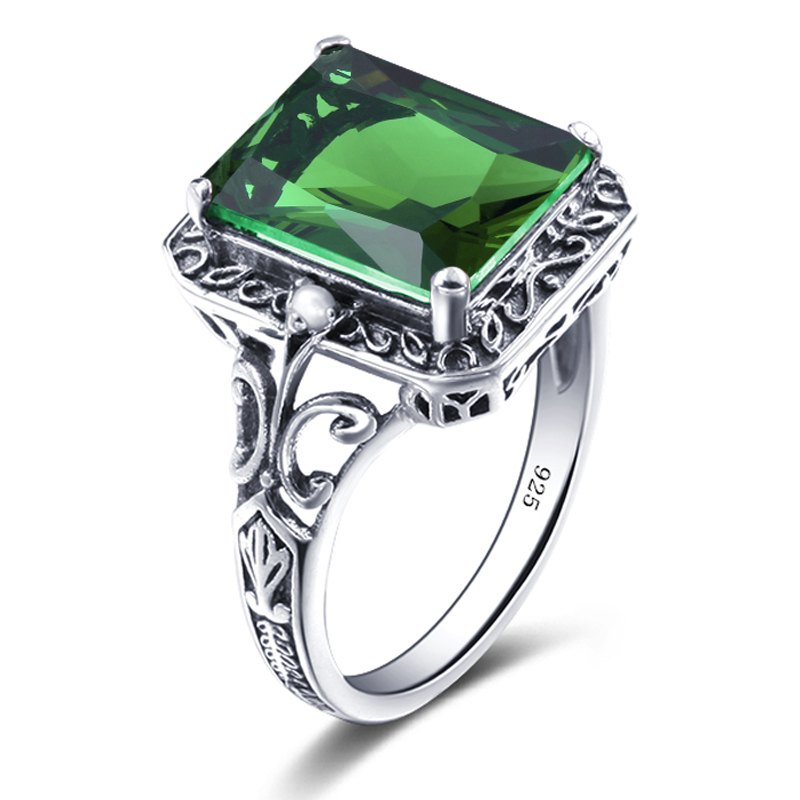 Green Engagement Rings Promotion Shop for Promotional Green