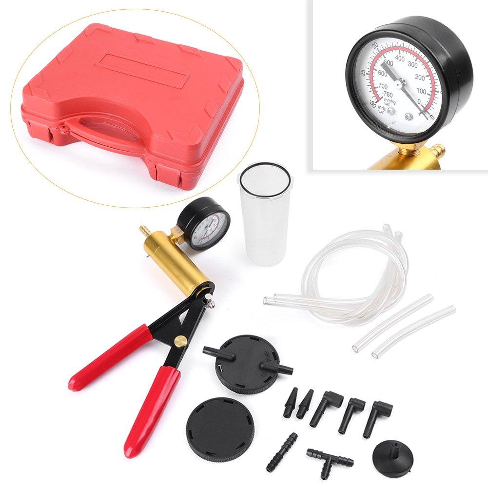 Ручной вакуумный насос тестер инструмент прочный тормозной жидкости Bleeder кровотечение комплект для автомобиля Мотоцикл мопед Мотор велоси...