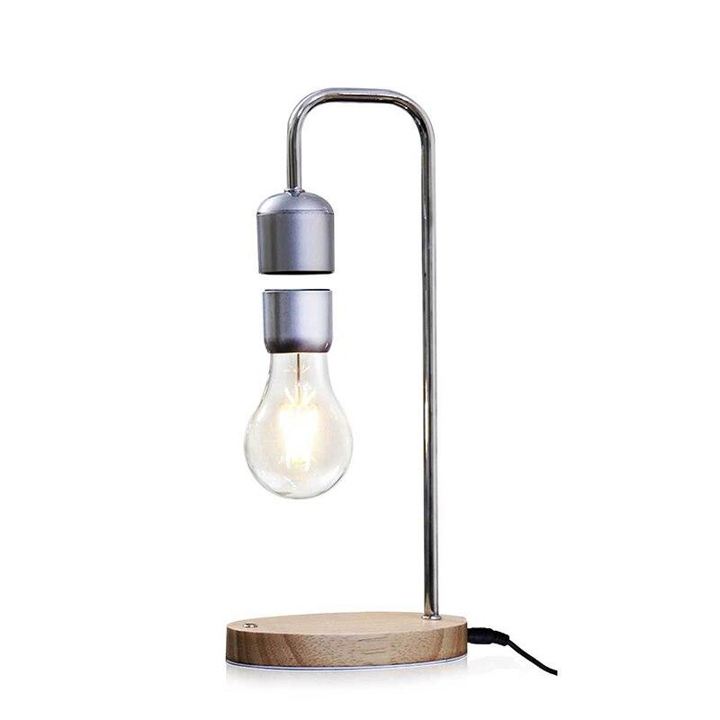 Livraison directe Magnétique Lévitation Flottant Ampoule lampe de bureau pour Unique Cadeaux décor de chambre Lumière de Nuit bureau Tech Jouets - 6