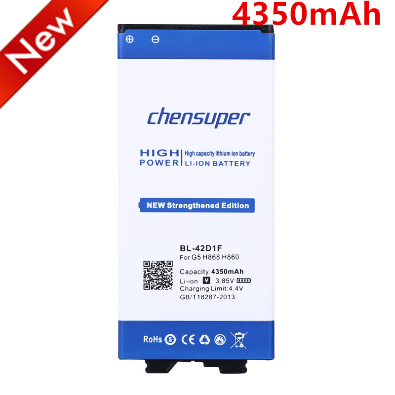Chensuper Bl-42d1f Mobile Phone Battery Use For Lg G5 H868 H860n H860 F700k H850 H830 H820 Vs987 Battery Nourishing Blood And Adjusting Spirit Mobile Phone Batteries