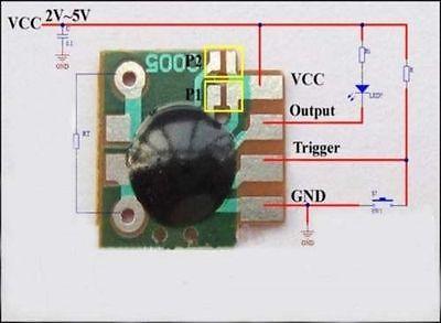 5PCS Multifunction Delay Trigger ChipTiming Mudule Timer IC Timing 2s -1000h