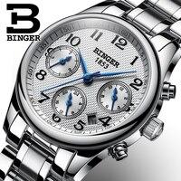 Switzerland BINGER Women Watches Luxury Brand Japan Quartz Movement Watch Waterproof Relogio Feminino Sapphire Clock B 603W 1
