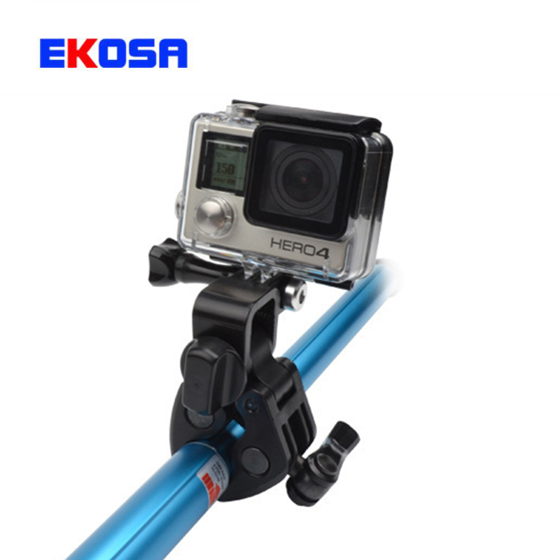 Gopro accessories sportsman mount fishing gun bow rod clip for Gopro fishing mount