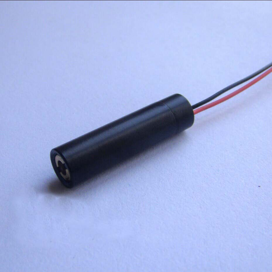 5mW 532nm green laser module Dot beam Diameter 8mm x length 30mm