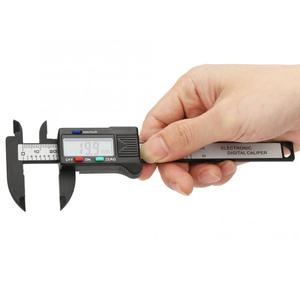 Image 1 - High Accuracy 100mm Plastic Electronic Digital Caliper with Large LCD Screen Digital Vernier Caliper (Without Battery)