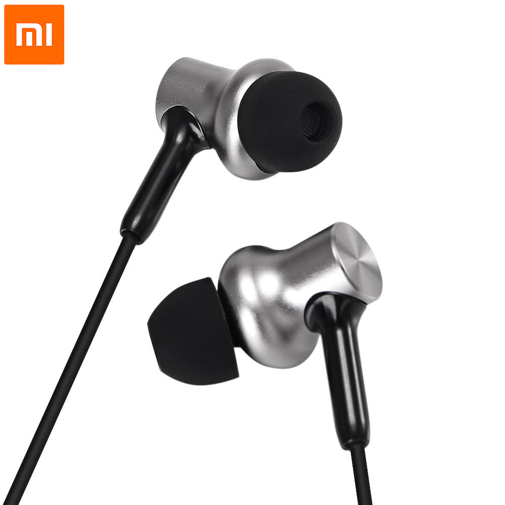 Xiaomi Earphone With Mic Remote Headset In Stock For Xiaomi Redmi Red Mi Mobile Phone Xiaomi Hybrid Pro HD In-Ear earbuds original xiaomi pro hd in ear hybrid earphones